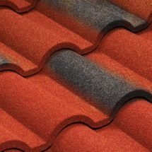 Metrotile Romana красно-черный