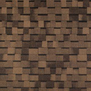 Гибкая черепица Tegola (Тегола) - TOP SHINGLE Премьер Светло-коричневый