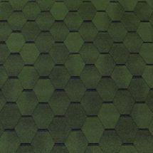 Гибкая черепица Tegola (Тегола) - TOP SHINGLE Смальто Зеленый