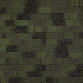 Гибкая черепица Tegola (Тегола) - TOP SHINGLE Винтаж Зеленый
