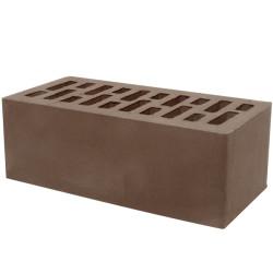 Кирпич Тербунский гончар корица (шоколад) гладкий 250x120x88