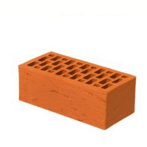 Керамический кирпич BRAER красный риф 250x120x88