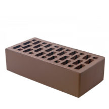 Керамический кирпич BRAER светло-коричневый гладкий 250x120x65