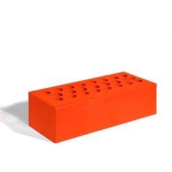 Керамический кирпич Керма красный гладкий 250x85x65