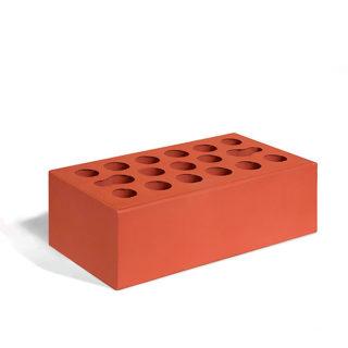 Керамический кирпич Керма бордовый гладкий 250x120x88