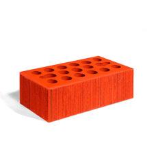 Керамический кирпич Керма красный бархат 250x120x88