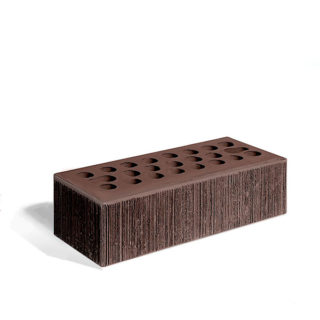 Керамический кирпич Керма шоколад бархат 250x85x65