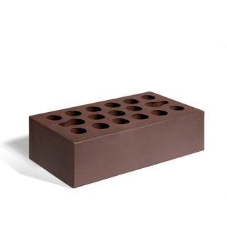 Керамический кирпич Керма шоколад гладкий 250x120x65