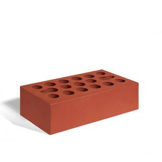 Керамический кирпич Керма бордовый гладкий 250x120x65