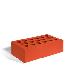 Керамический кирпич Керма красный гладкий 250x120x65