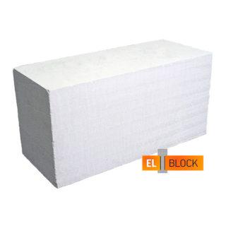 Стеновой газосиликатный (газобетонный) блок El-Block D400 600x250x200