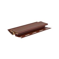 Н-профиль соединительный Альта-Профиль коричневый