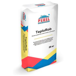 Легкая цементно-известковая штукатурка Perel TeploRob 0518