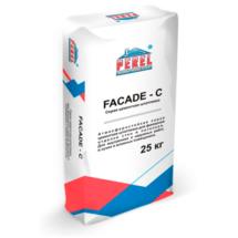 Серая цементная шпатлевка Perel Facade - C 0650
