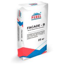 Белая цементная шпатлевка Perel Facade - B 0652