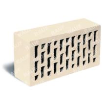 Кирпич лицевой белый гладкий ЛСР (RAUF Fassade) 250x120x65