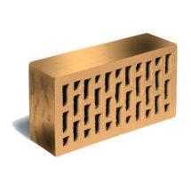 Кирпич лицевой соломенный флэшинг рустик ЛСР (RAUF Fassade) 250x120x65