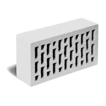 Кирпич лицевой светло-серый гладкий ЛСР (RAUF Fassade) 250x120x65