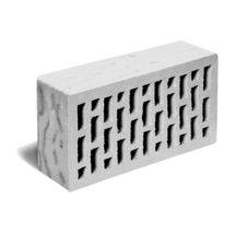 Кирпич лицевой светло-серый рустик ЛСР (RAUF Fassade) 250x120x65