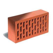 Кирпич лицевой красный флэшинг гладкий ЛСР (RAUF Fassade) 250x120x65