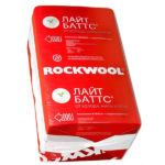 Утеплитель Rockwool (Роквул) Лайт Баттс