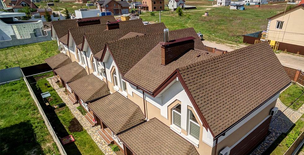 Крыша из гибкой черепицы по доступной цене