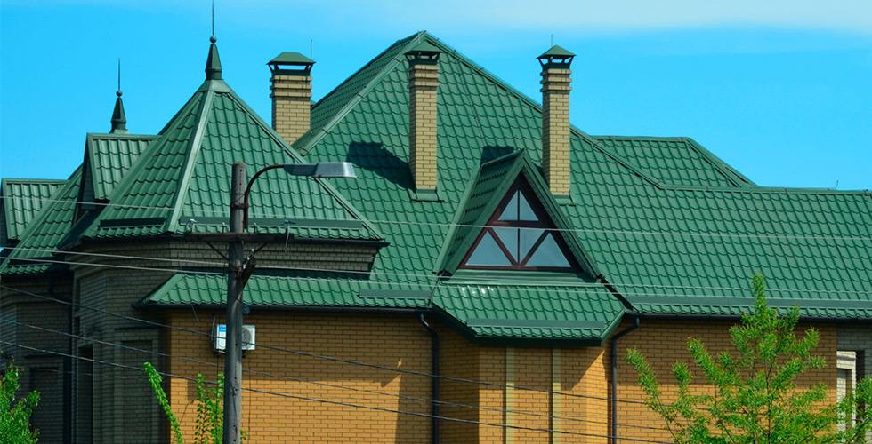 Интересует цена крыши из металлочерепицы под ключ?