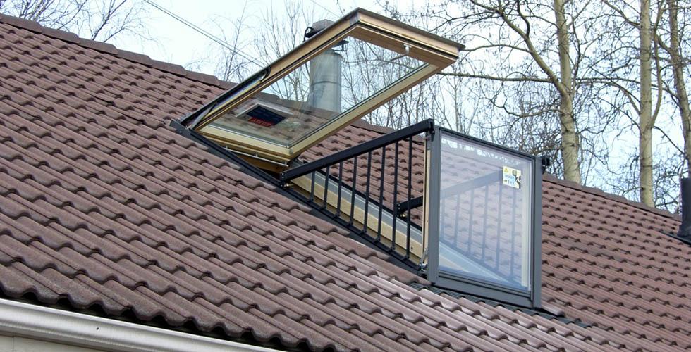 mansardnoe okno balkon - Мансардное окно-балкон