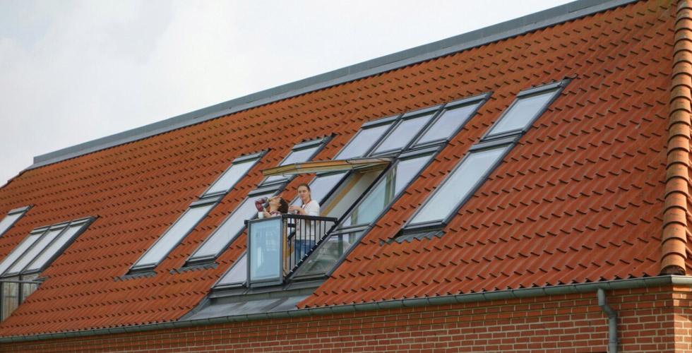 okno v mansardnoj kryshe - Окно в мансардную крышу