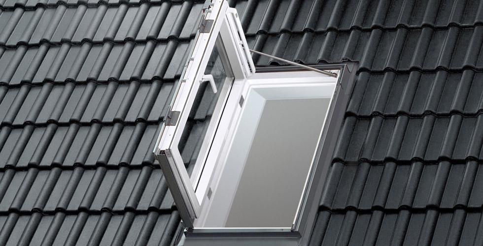 plastikovye mansardnye okna - Пластиковые мансардные окна